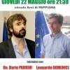 GIOVEDI' 22 ORE 21.30 CIRCOLO ARCI PAPPIANA DIBATTITO PUBBLICO CON LEONARDO DOMENICI E DARIO PARRINI